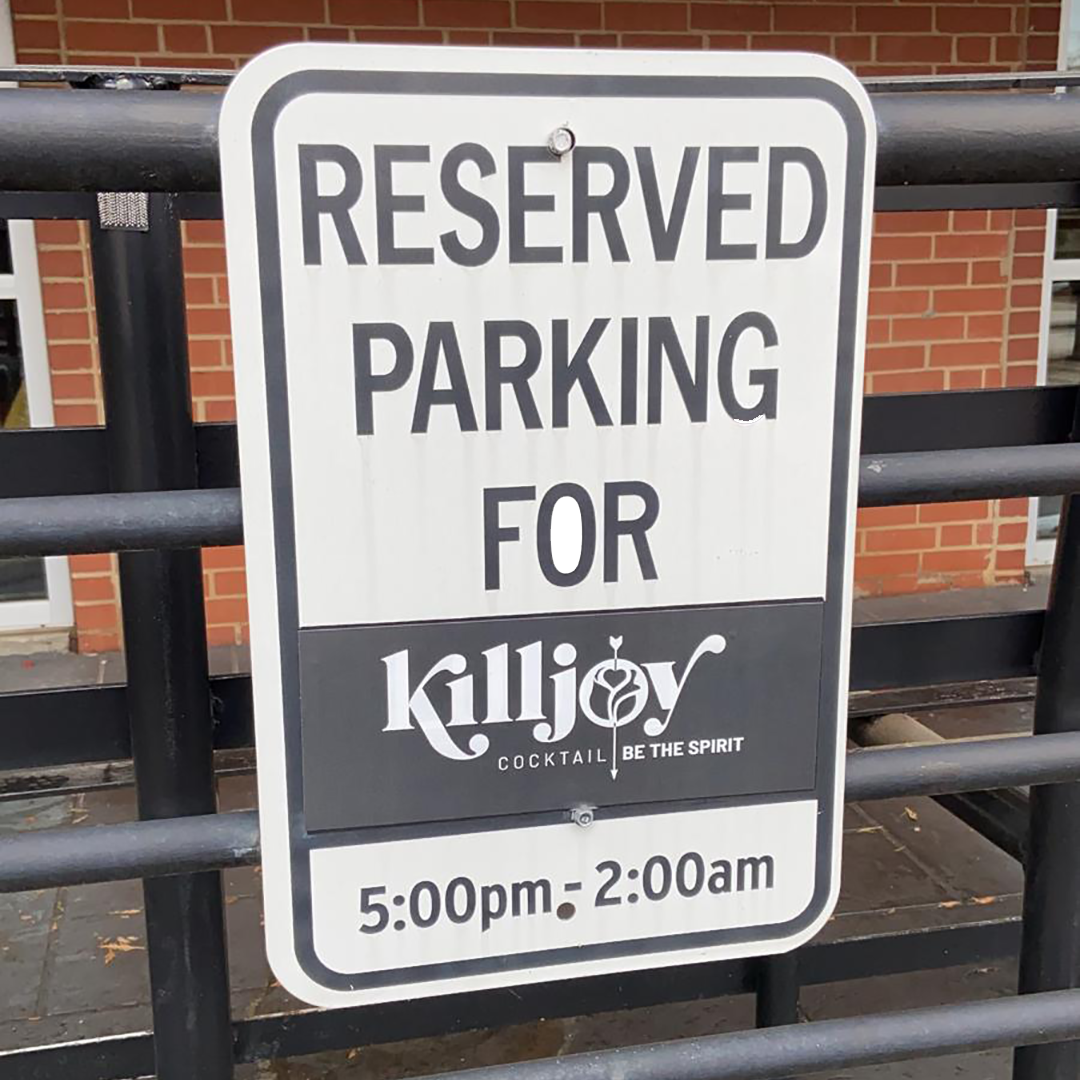 Reserved Parking for Killjoy - Square