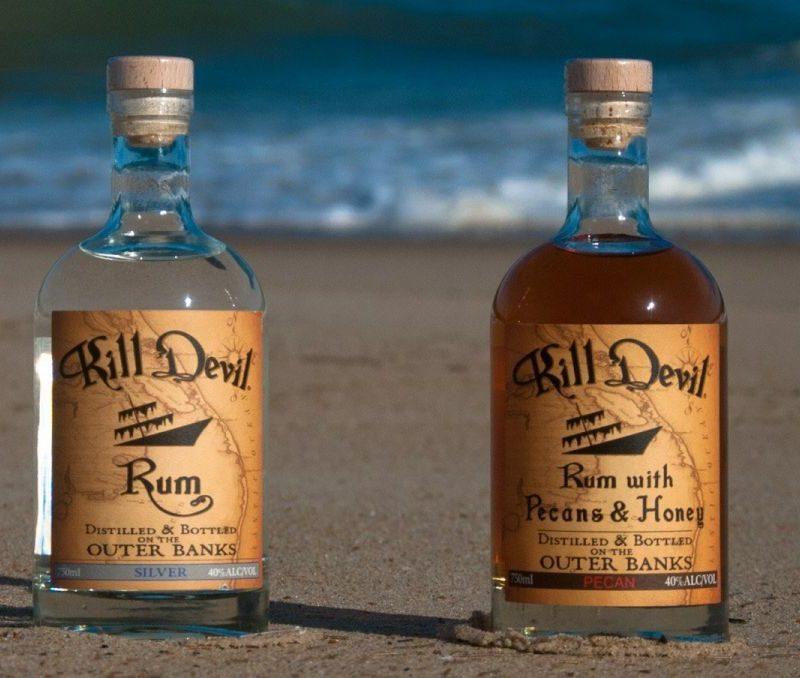 Outer Banks Distilling products served at Killjoy Cocktail in Raleigh