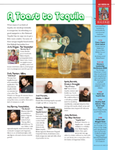 Raleigh Magazine - July 2020 - A Toast to Tequila