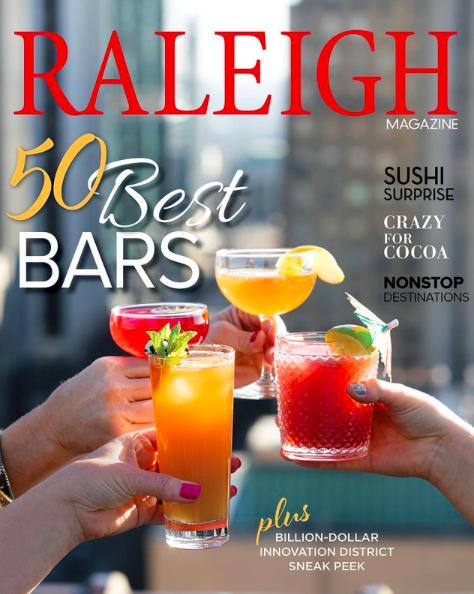 Raleigh Magazine Best Bars 2020